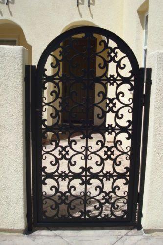 Buy A Hand Made Italian Metal Gate On Sale Decorative