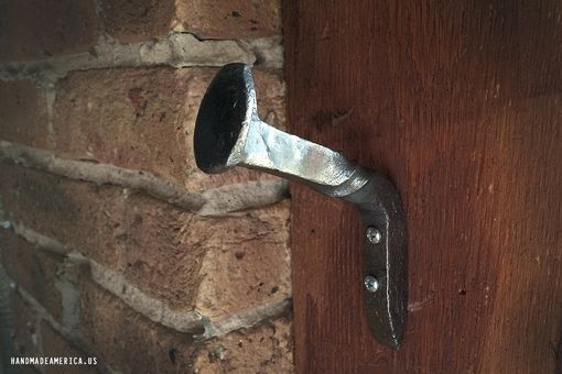 Custom Made Twisted Railroad Spike Hook