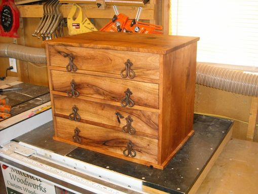 Custom Made Mesquite Cabinet