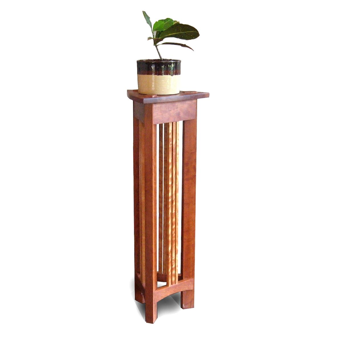 Wooden Iron Stand Designs : Hand made plant stand by mark love furniture custommade