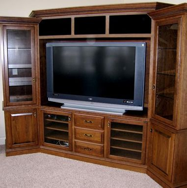 Custom Made Entertainment Centers And Media Cabinets