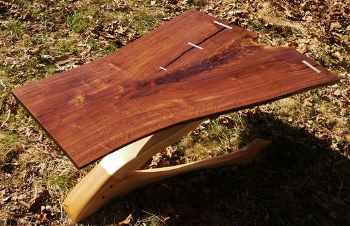 Custom Made Cantilevered Coffee Table