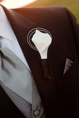 Custom Made Wedding Boutonniere - Custom Made For Your Wedding!