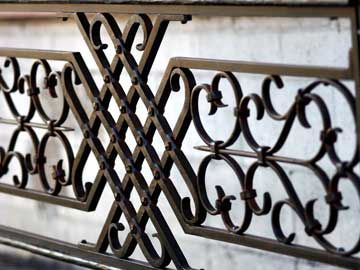Custom Made Forged Window Grill