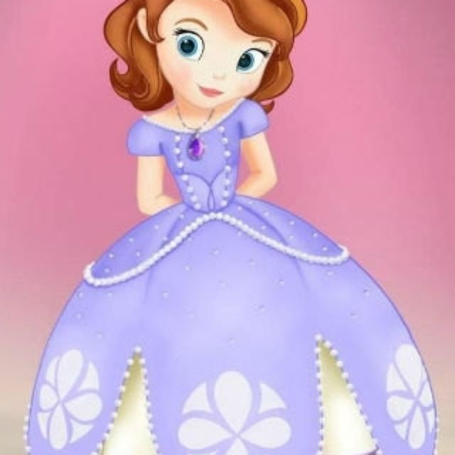 Custom Made Sofia The First Princess Dress Gown - Toddler Size by ...