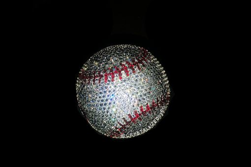 Custom Made Any Team Crystallized Baseball Mlb Game Sized Sports Bling Made With Swarovski Crystals Bedazzled