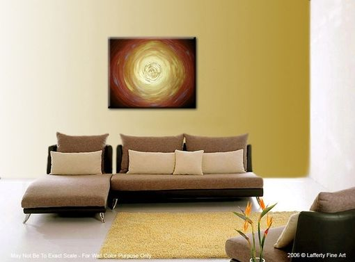 Custom Made Abstract Gold Original Painting By Laffertyart Sale 22% Off