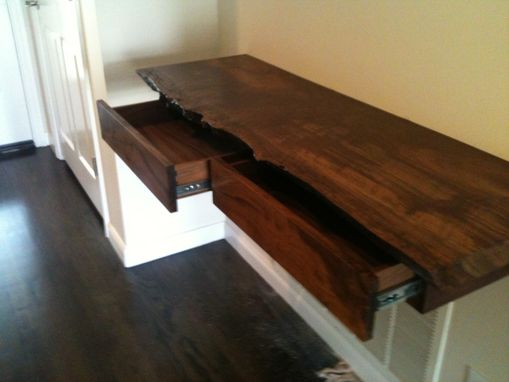 Custom Made Console Table Claro Walnut