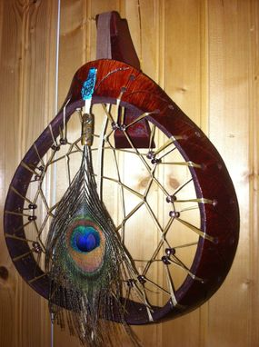 Custom Made Gourd Dream Catcher