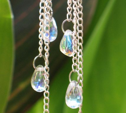 Custom Made Earrings: Dancing Drops