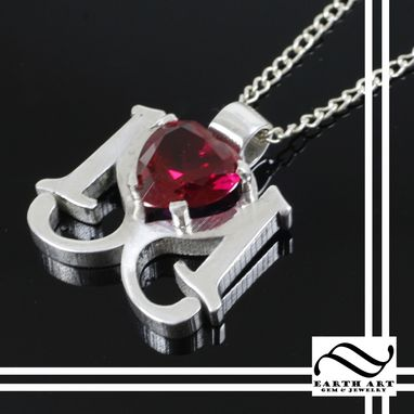 Custom Made 101 Red Ruby Pendant
