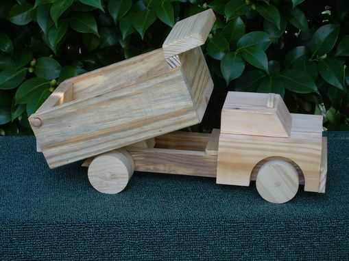 Custom Made Natural Wood Toys