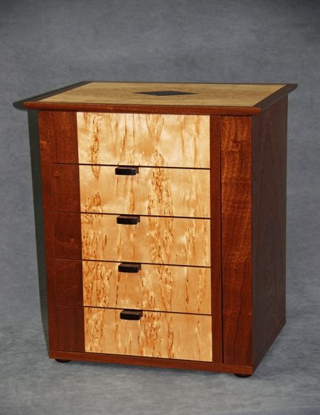 1bfcd6dcc Hand Crafted Small Jewelry Armoire by Cyma Furniture Design ...