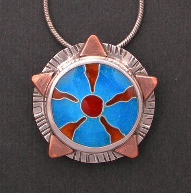 Custom Made Sun Pendant