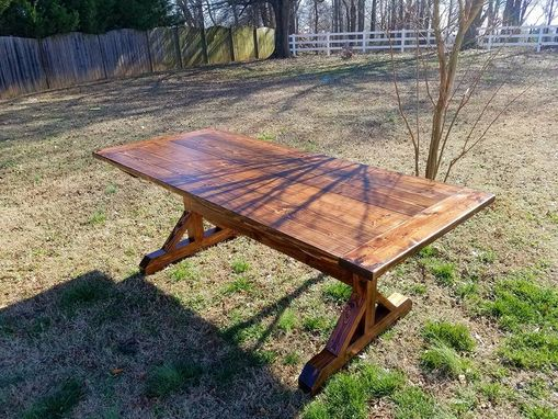Custom Made Oxford Trestle Style Table