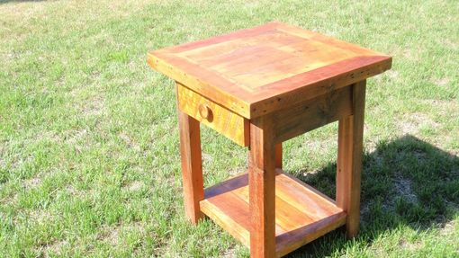 Custom Made Rustic Barn Wood Night Stands - End Tables