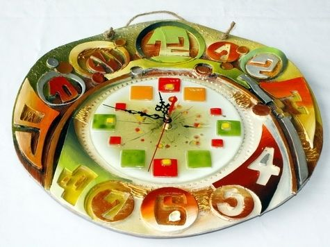 Custom Made Ceramic Clock