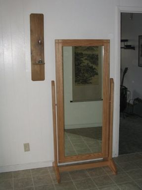 Custom Made Swinging Mirror