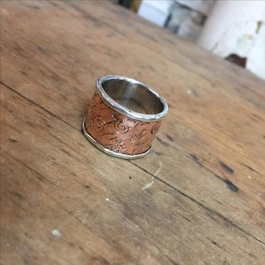 Custom Made Silver Lined Band
