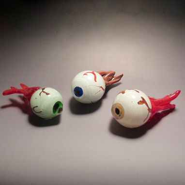 Custom Made Hand Blown Glass Eyeballs