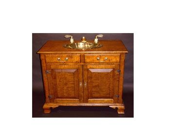 Custom Made Chippendale Vanity