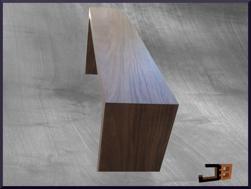 Custom Made Mahogany Console Table
