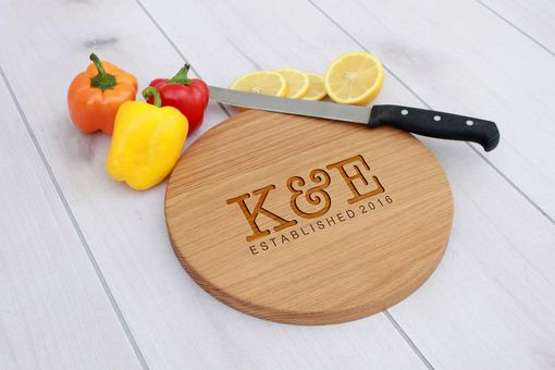 Custom Made Personalized Cutting Board, Engraved Cutting Board, Custom Wedding Gift – Cbr-Wo-K&E