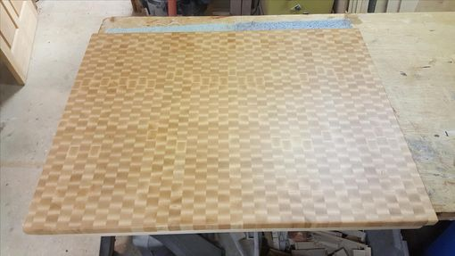 Custom Made Maple End Grain Board