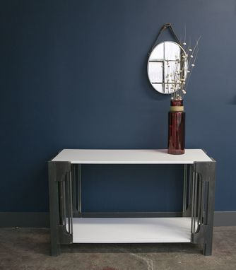 Custom Made Cathedral Console Table