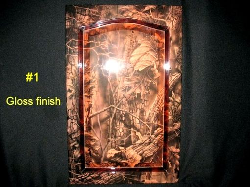 Custom Made Wood  Art Finishes