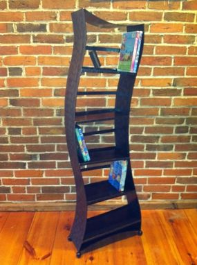 Custom Made Modern Dvd Rack