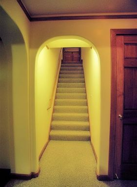 Custom Made Custom Design/Build Basement Remodeling Project