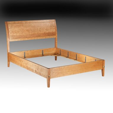 Custom Made Cherry Sleigh Bed