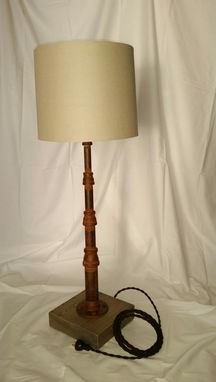 Custom Made Pole Table Lamp