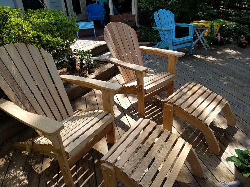 Adirondack Chairs White Oak Quarter Sawn White Oak