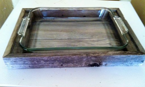 Custom Made Reclaimed Barnwood Serving Tray
