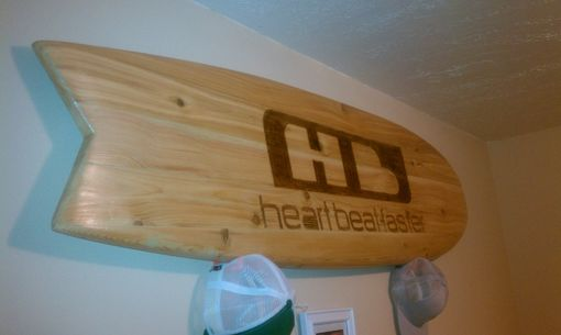 Custom Made Custom Wood Sign