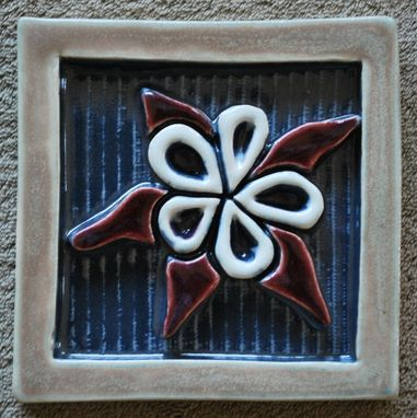 Custom Made Wildflower Tile #2