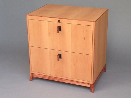 Custom Made Lateral File Cabinet