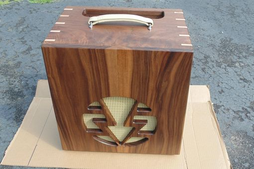 Handmade Solid Walnut Guitar Amplifier Housing (1 Of 2) by Insight