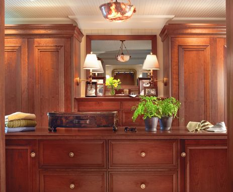 Custom Made Harbor Springs Dressing Room-His