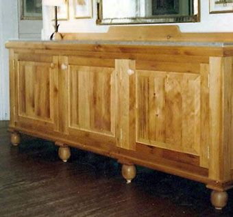 Custom Made Granary-Pine Sideboard