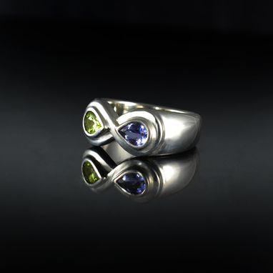 Custom Made Infinity Ring With Birthstones
