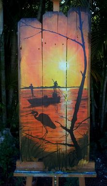 Custom Made Sunset In The Florida Keys Series