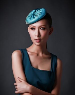 Custom Made Silk Beret