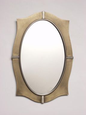 Custom Made Pointed Oval Mirror