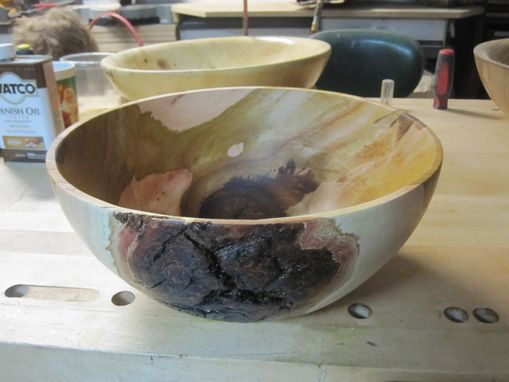 Custom Made Hand Turned Wooden Bowls