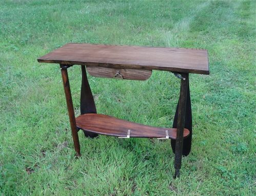 Custom Made Canoe Theme Rustic Table