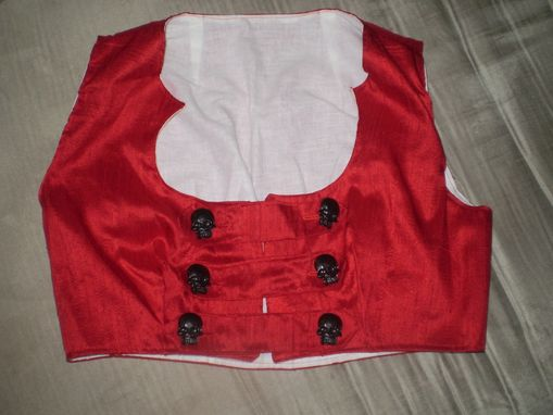 Custom Made Cropped Bodice
