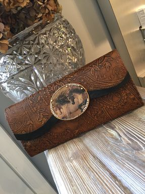 Custom Made Equine Leather Wallet